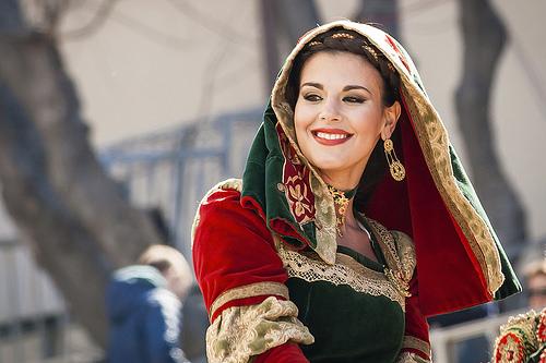 Eleonora alla Sartiglia del 2012