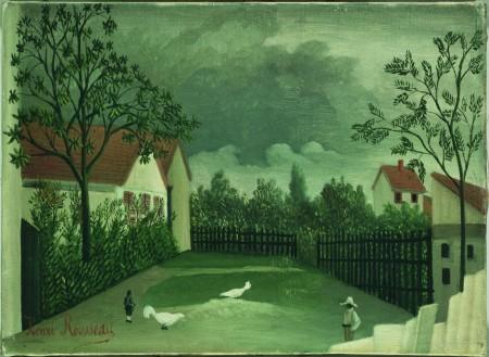 """Il cortile"" di Rousseau"