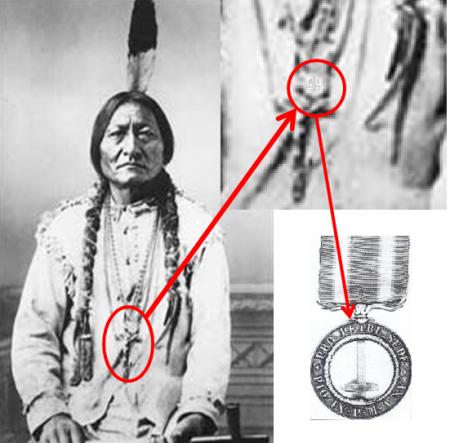 Toro Seduto e la medaglia di Castelfidardo