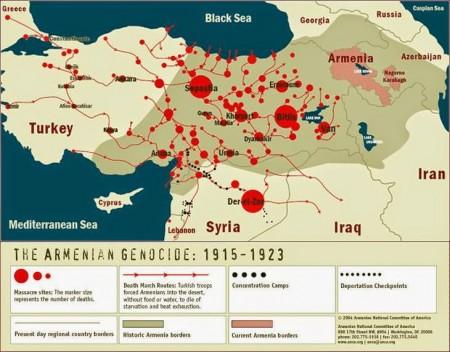 Mappa del genocidio
