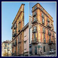 due viste di casa Scarabozzi/Fetta di Polenta
