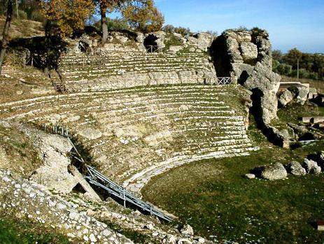 L'anfiteatro di Urbisaglia