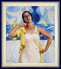 La figlia del sole, Giacomo Balla, 1933