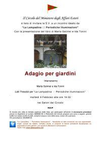 Invito Adagio per giardini
