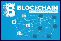 Il logo Blockchain