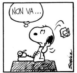 snoopy-scrittore