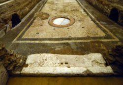 La fossa sanguinis a Caracalla