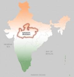 NL20 - spalla - note di viaggio - madhya pradesh mappa