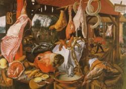 NL23 - il quinto quarto - la bottega del macellaio di Pieter Aertsen 1551