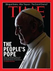 papa Francesco sulla copertina del Tima