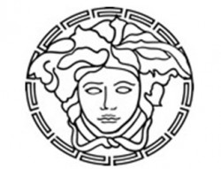 NL28 - 1 - meduse - maison Versace bianco