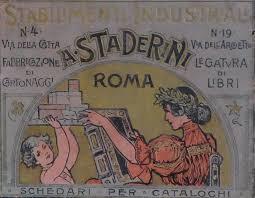 NL28 - sei gradi - Paris 1900 - Officina da legatori di libri Staderini