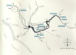 NL29 - vie d'acqua - acquedotti mappa