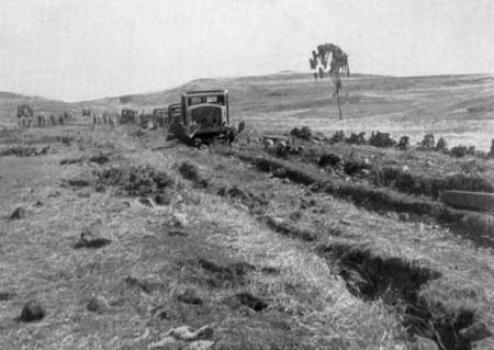 NL32 - abissinia - strada prima dell'intervento italiano