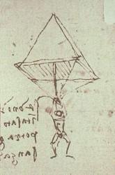 NL33 - Leonardo- DaVinciParachuteSketch