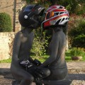 NL35 - i caschi raccantano - Motoretta_amanti_a_due_ruot Rocca di Bertinoro