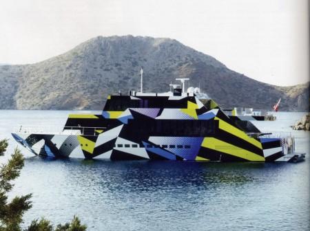 Guilty-lo-yacht-firmato-da-Jeff-Koons