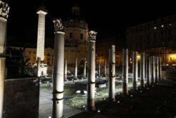 I fori imperiali illuminati dagli Storaro per il 2769° natale di Roma