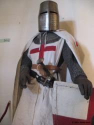L'armatura del cavaliere templare