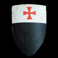 Lo scudo dei cavalieri Templari
