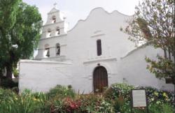 san Diego de Alcalà, la prima missione fondata sul Camino Real