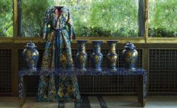 Isabelle de Borchgrave abito da camera di Albertine - foto di Guido Taroni-Fai