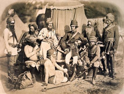 Sikh e ufficiali britanici