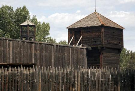 Fortificazione con torretta