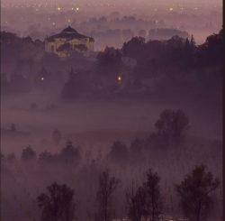 nebbia e luci