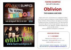 Oblivion-the-human-juke-box_-promozione-speciale