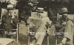 Russel, Stachey e Keynes