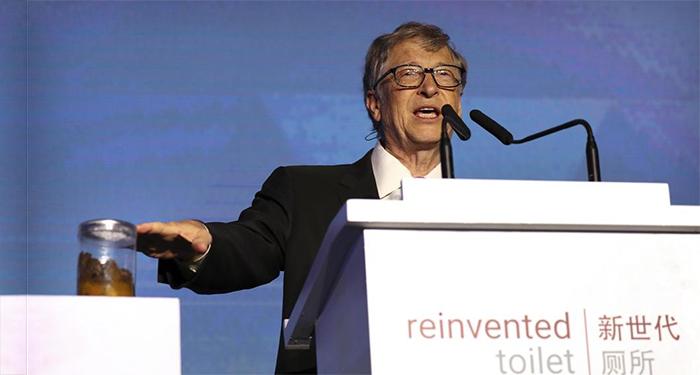TECNOLOGIA – Bill Gates e l'evoluzione del wc