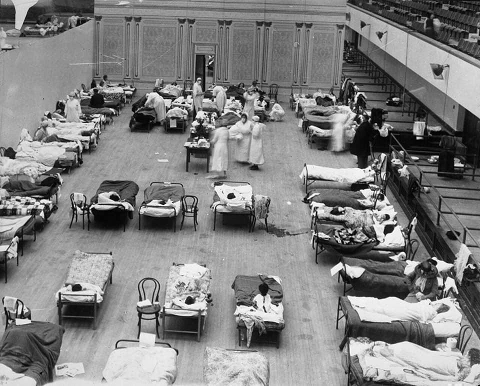Anni Venti durante l'epidemia di Spagnola (foto 6)