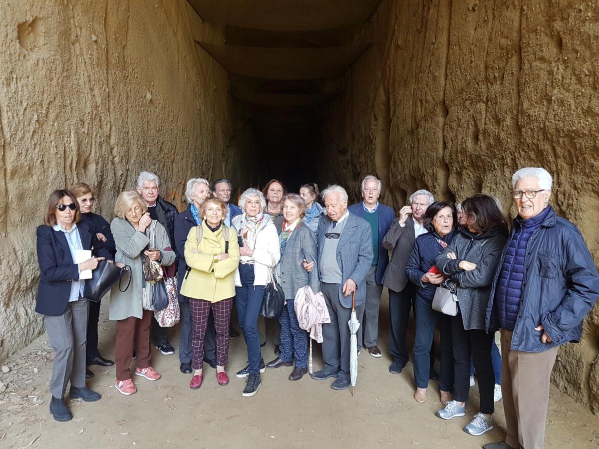 Nel tunnel di Seiano