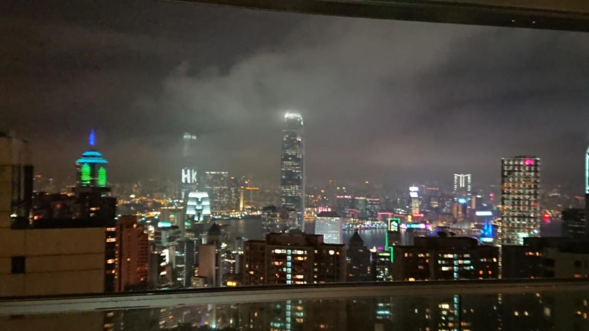 Lo skyline di HK