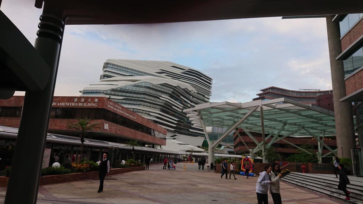 La HK University progettata da Zaha Hadid