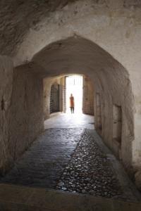 Dalla chiesa rupestre vicino al Palombaro Lungo